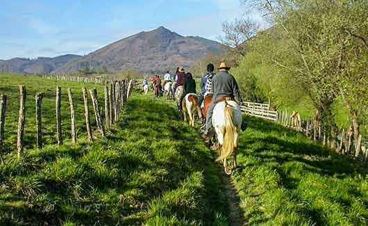 activités autour du camping Pays Basque