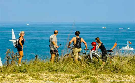 camping Urrugne bord de mer