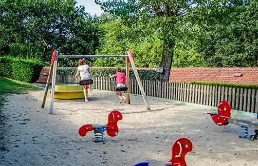 camping pays basque avec club enfant