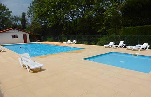 camping avec piscine chauffée cote basque
