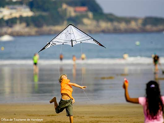 camping bord de mer cote basque