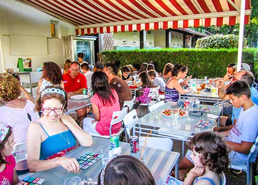 camping pays basque avec snack