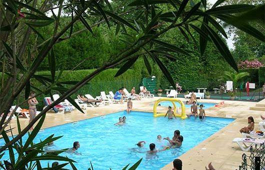 camping avec espace aquatique pays basque