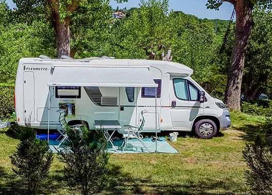 parcelle de camping Pays Basque