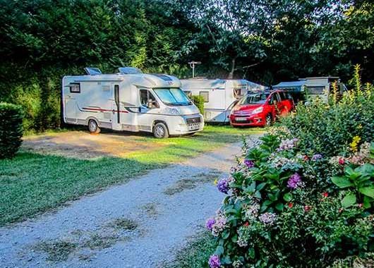 emplacement pour tente cote basque