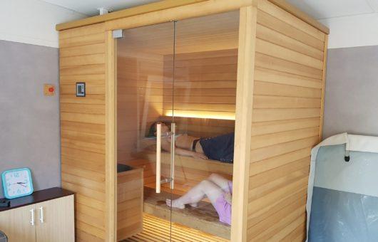 camping suhiberry - spa sauna